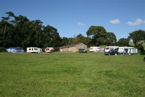 Camp site at Manor Farm Holiday Centre